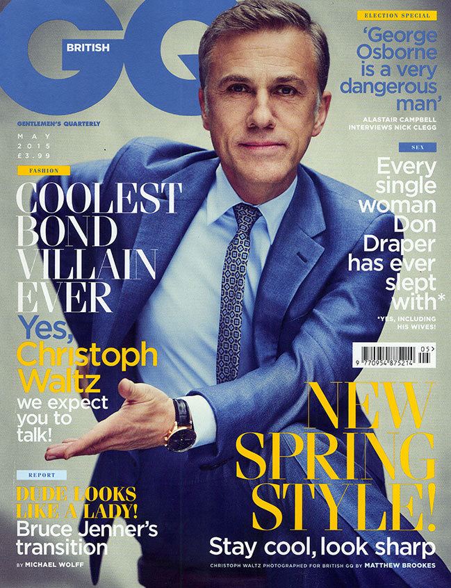 GQ May 2015 Issue