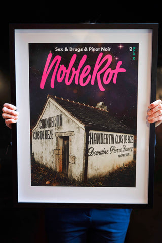 Noble Rot Limited Edition Art Print - 'GENERATION BURGUNDY'