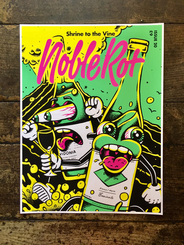 NOBLE ROT LIMITED EDITION ARTWORK PRINT - Back to Life from Issue 20