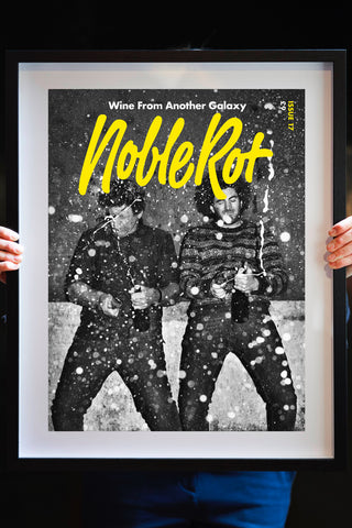 NOBLE ROT LIMITED EDITION ARTWORK PRINT  - Champagne Underground