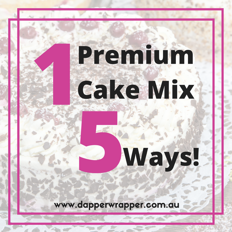 1 Delicious Mud Cake Mix 5 Ways!