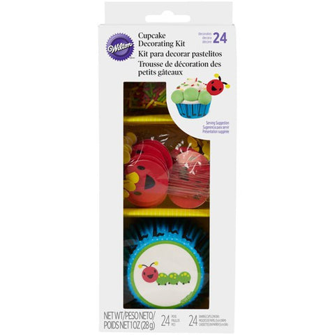 Caterpillar Cupcake Decorating Kit - Sprinkles past best before date... other items in the kit still good.