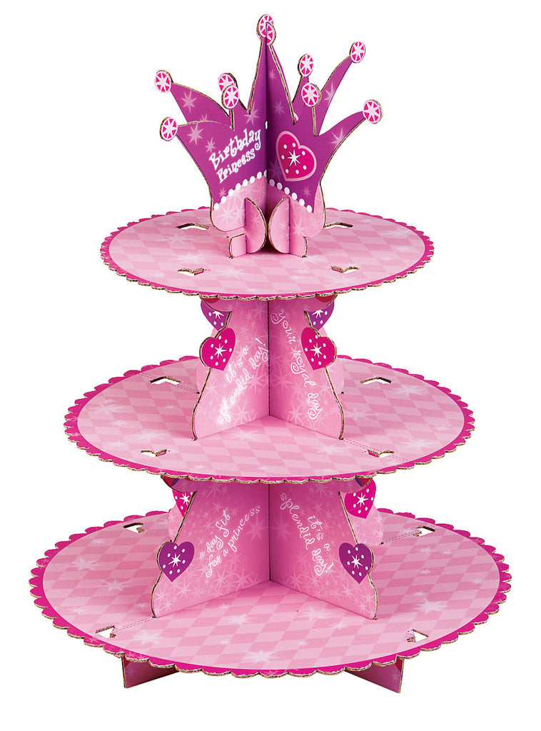 Princess Cupcake Stand Kit (Baking cups and pix included!)