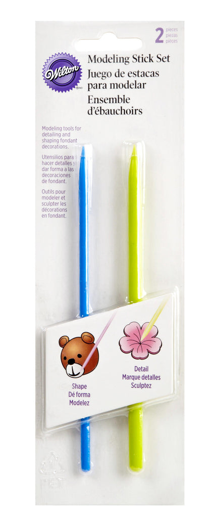 Fondant & Gum Paste Tool Set - 2 piece