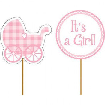 It's a Girl! Cupcake Picks