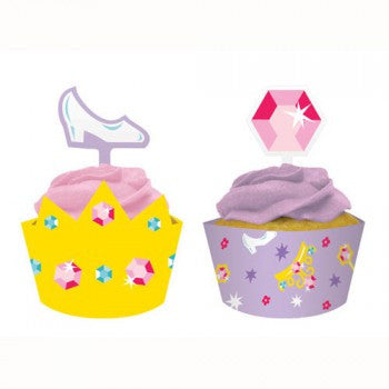Castle Fun Cupcake Wraps with Toppers