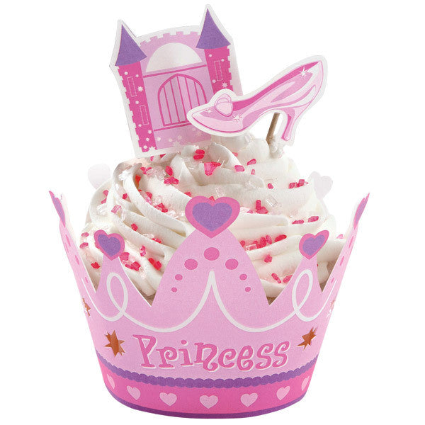 Princess Cupcake Wrap Kit