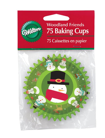 Snowman (Woodland Friends) Standard Cupcake Cases