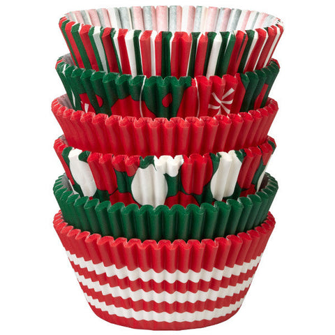 Christmas Standard Baking Cups