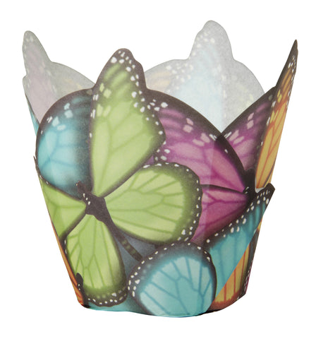 Butterfly Specialty Baking Cups