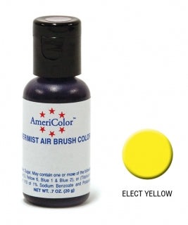 Americolor Airbrush Colour - Electric Yellow 0.65oz