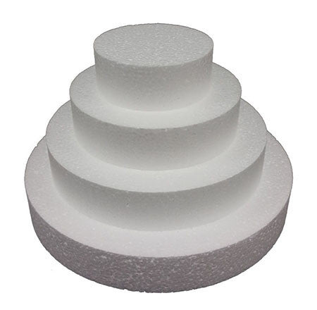 Cake Dummy Round 9in x 100mm