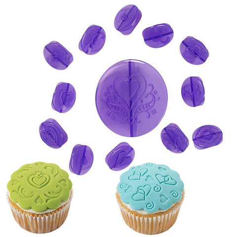 Cupcake Decorating Set - Hearts