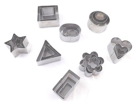 Assorted cutter tin set