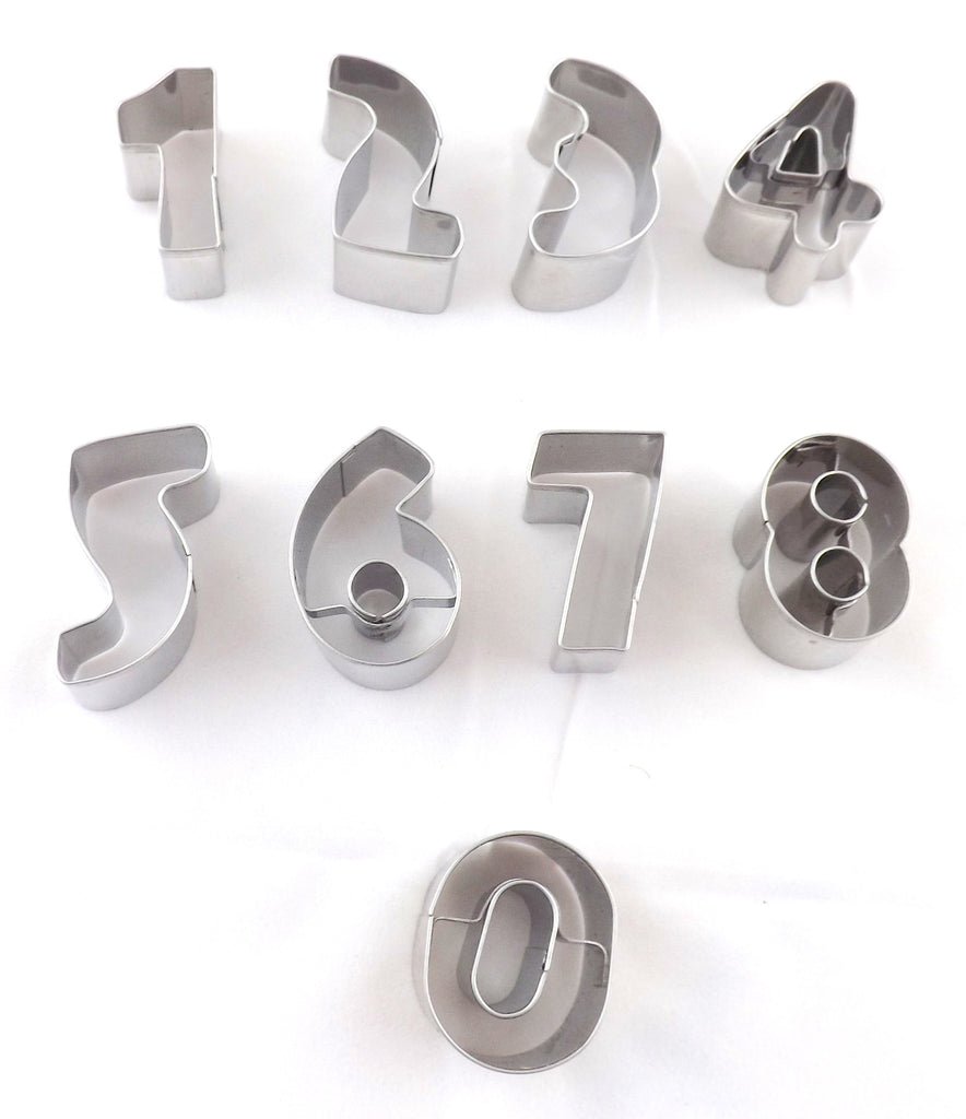 Number cutter tin set - small
