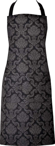 Ladies Apron - D'masque Black