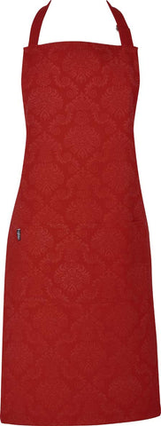 Ladies Apron - D'masque Red