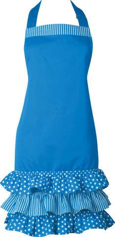 Ladies Apron - Aqua