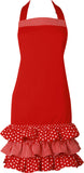 Ladies Apron - Red