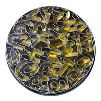 Alphabet Cut-Outs Stainless Steel