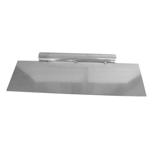 Scraper Long Edge 28cm Stainless Steel