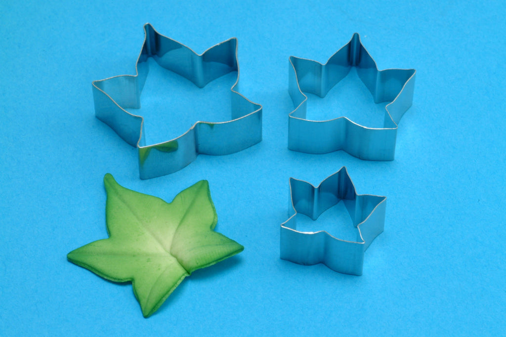 Ivy Leaf Flower Petal Cutter Set/3