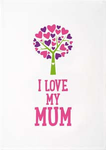 Tea Towels - I Love My Mum