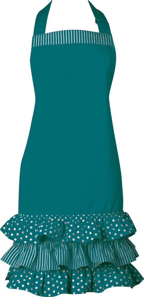 Ladies Apron - Emerald