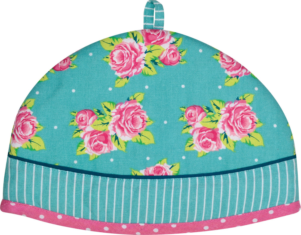 Vintage Rose Tea Pot Cover