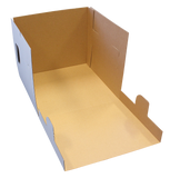 "Cake Box Tall 14x14x12"" Top Window E-Flute"