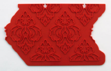 Silicone Mat Onlay Damask