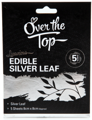 Silver Leaf Transfer Sheet - 5 pack - Over The Top