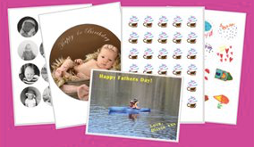 Custom Edible Cupcake Toppers – 12 x 2.5 inches