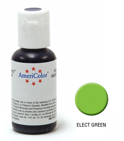 Americolor Gel Paste Elec Green 0.75OZ