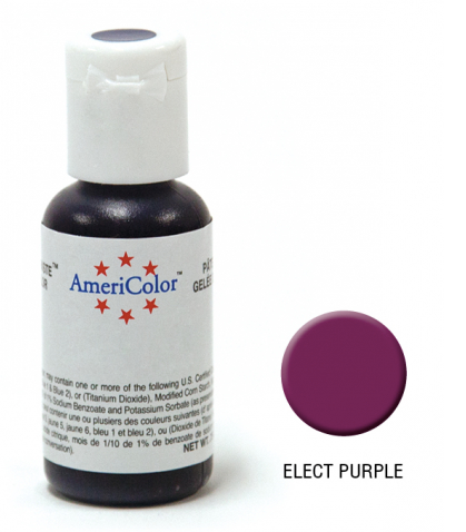 Americolor Gel Paste Elec Purple 0.75OZ