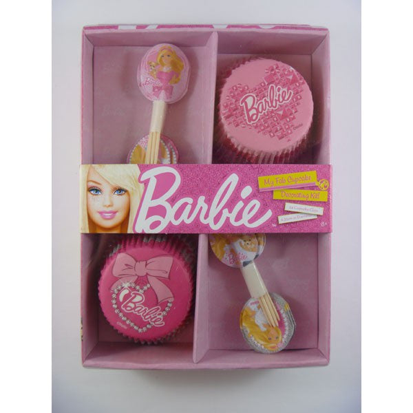 Barbie Cupcake Decorating Kit