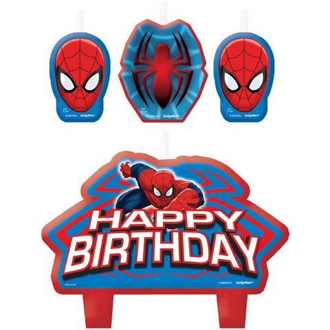 Spiderman Candle Set