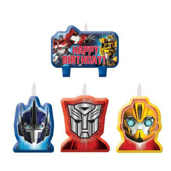 Transformers Moulded Candle Set