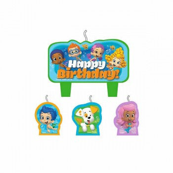 Bubble Guppies Candle Set