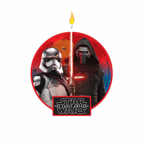 Star Wars Episode 7 Candle