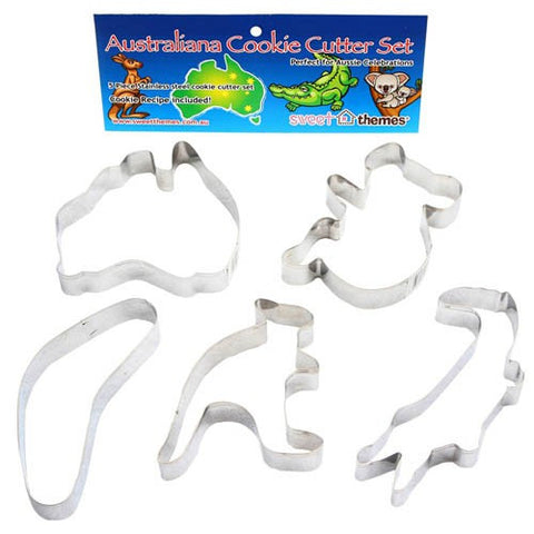 Australiana cookie cutters