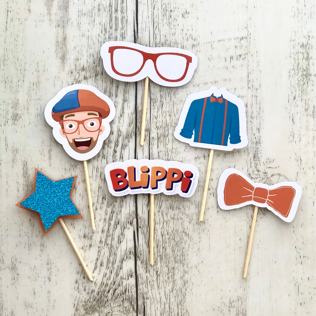 Custom Shaped Cupcake Toppers (12 per set)