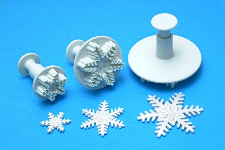 Snowflake Plunger Cutter - Individual Large