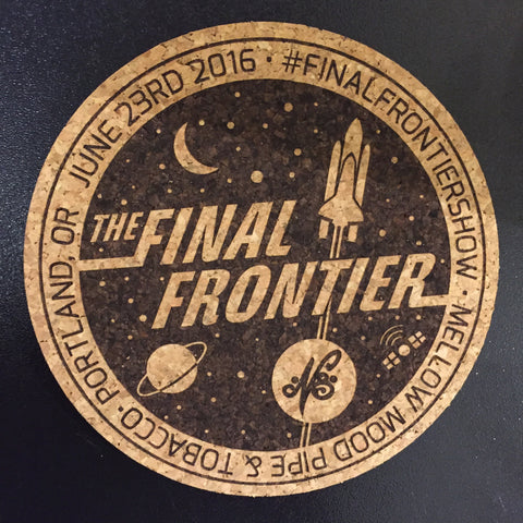 """The Final Frontier"" Cork Pad"