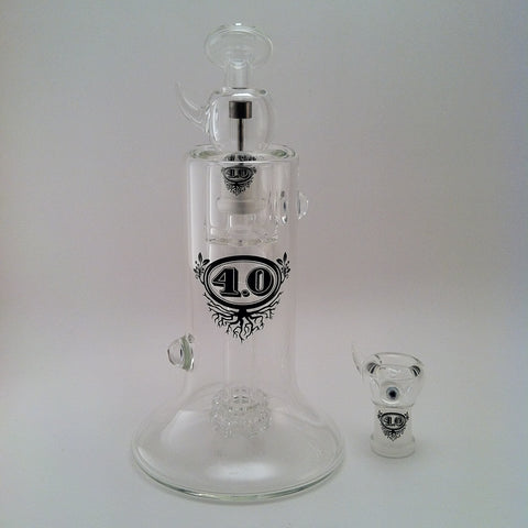 4.0: Double Showerhead Bubbler with Ti #16
