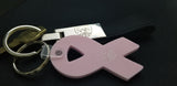 Breast Cancer Awareness Ribbon Keychain