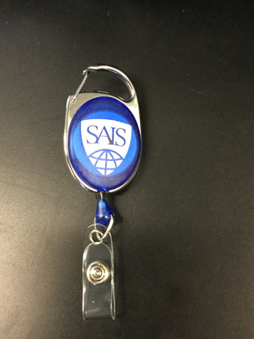 Retractable badge pull