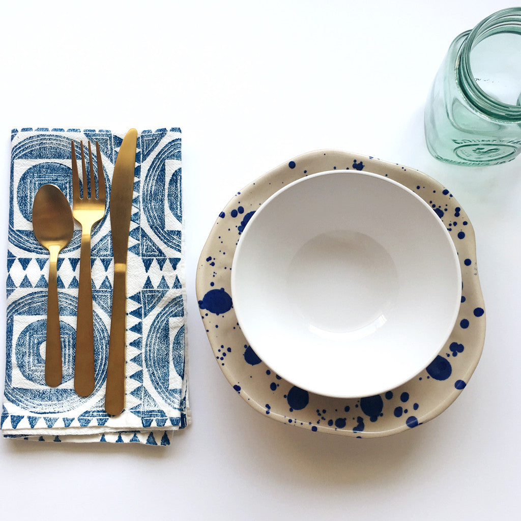 ... Moroccan Tile Napkin Set   Set Of 4 ...