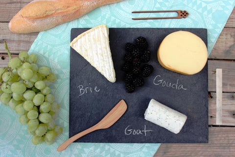 black slate cheese plate assorted sizes