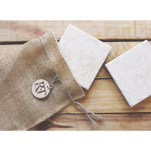 Natural Stone Coasters - Classic
